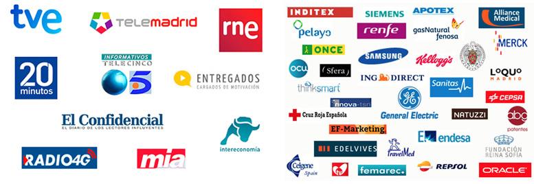medios y empresas